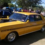 Cars on display at Lockyer Powerfest
