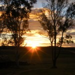 Sunset at Stockton Rise