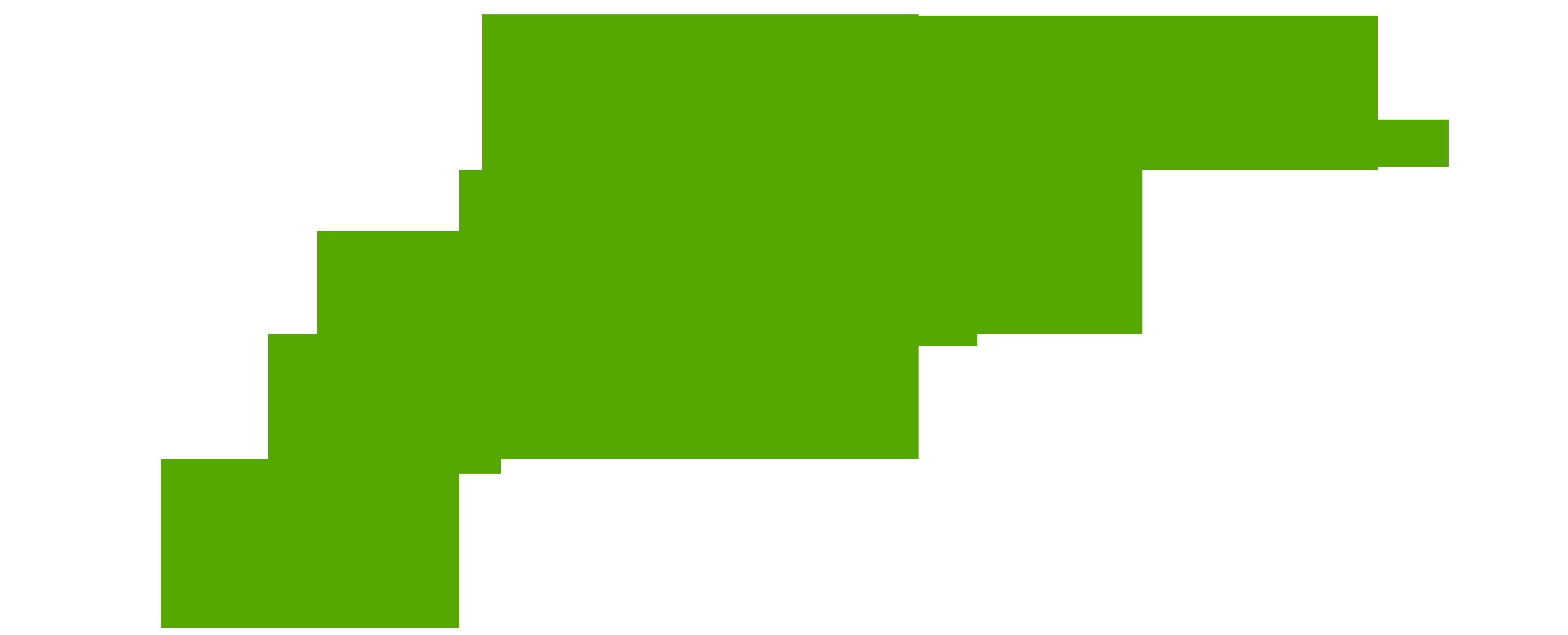 Green leaf logo png
